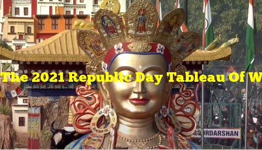 The 2021 Republic Day Tableau Of Which State/UT Featured The Indian Astronomical Observatory Located In Hanle?