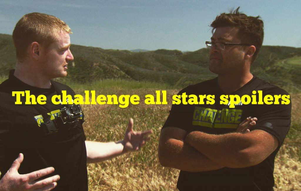 The challenge all stars spoilers