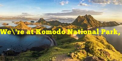 We're at Komodo National Park, which is famous for its giant…