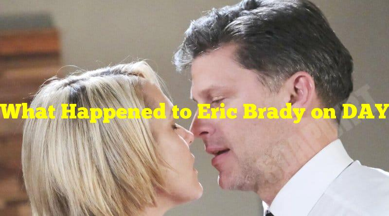 What Happened to Eric Brady on DAYS OF OUR LIVES
