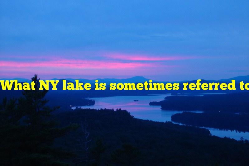 What NY lake is sometimes referred to as the finger that is known in humans to have opposition and apposition movements?