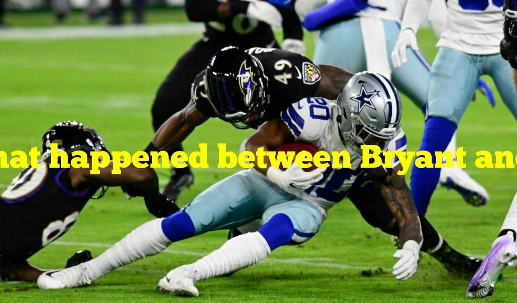 What happened between Bryant and the Ravens?