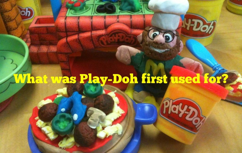 What was Play-Doh first used for?