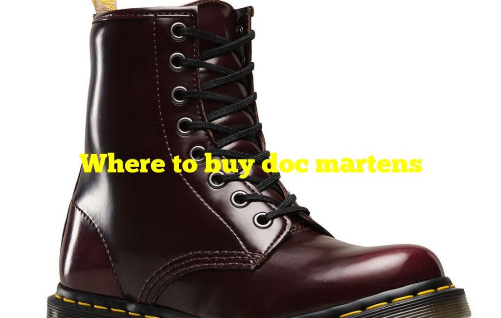 Where to buy doc martens