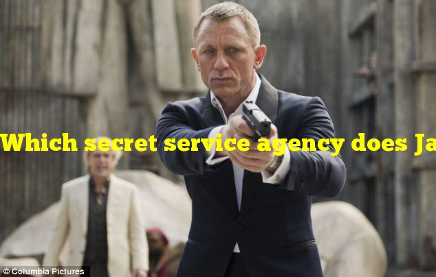 Which secret service agency does James Bond work for?