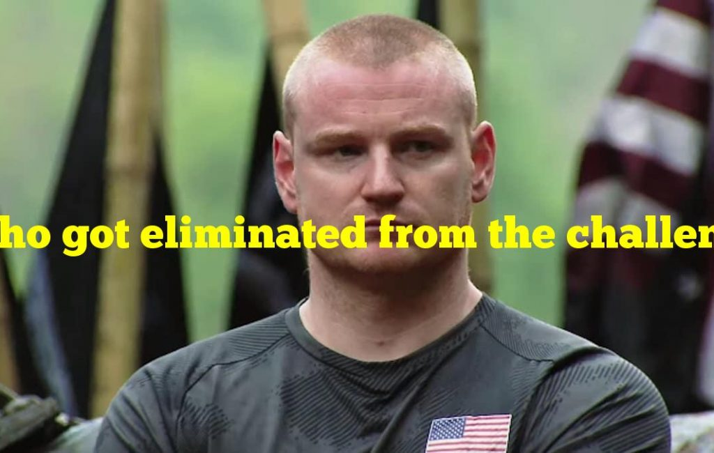 Who got eliminated from the challenge