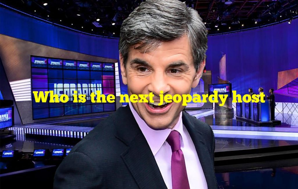 Who is the next jeopardy host