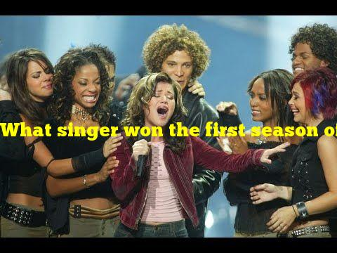 What singer won the first season of American Idol?