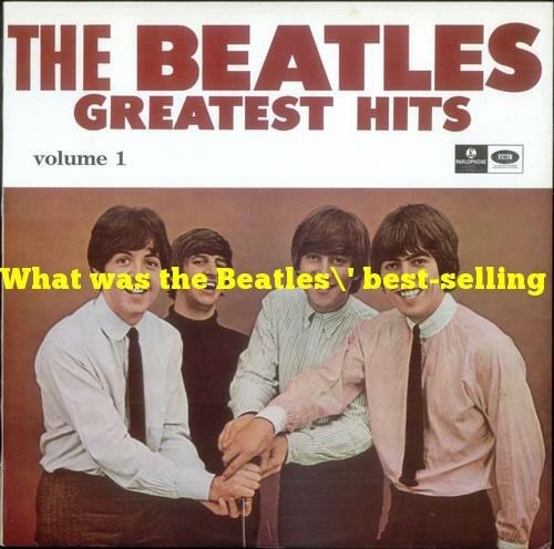 What was the Beatles' best-selling album in the U.S.?