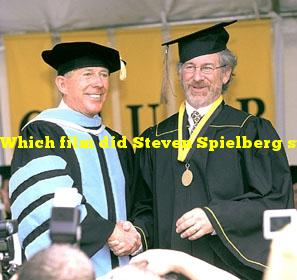 Which film did Steven Spielberg submit as a college graduation requirement?