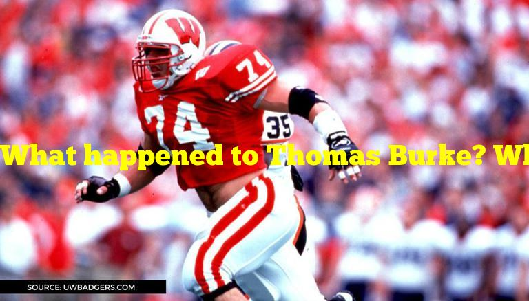 What happened to Thomas Burke? What did former NFL player do?