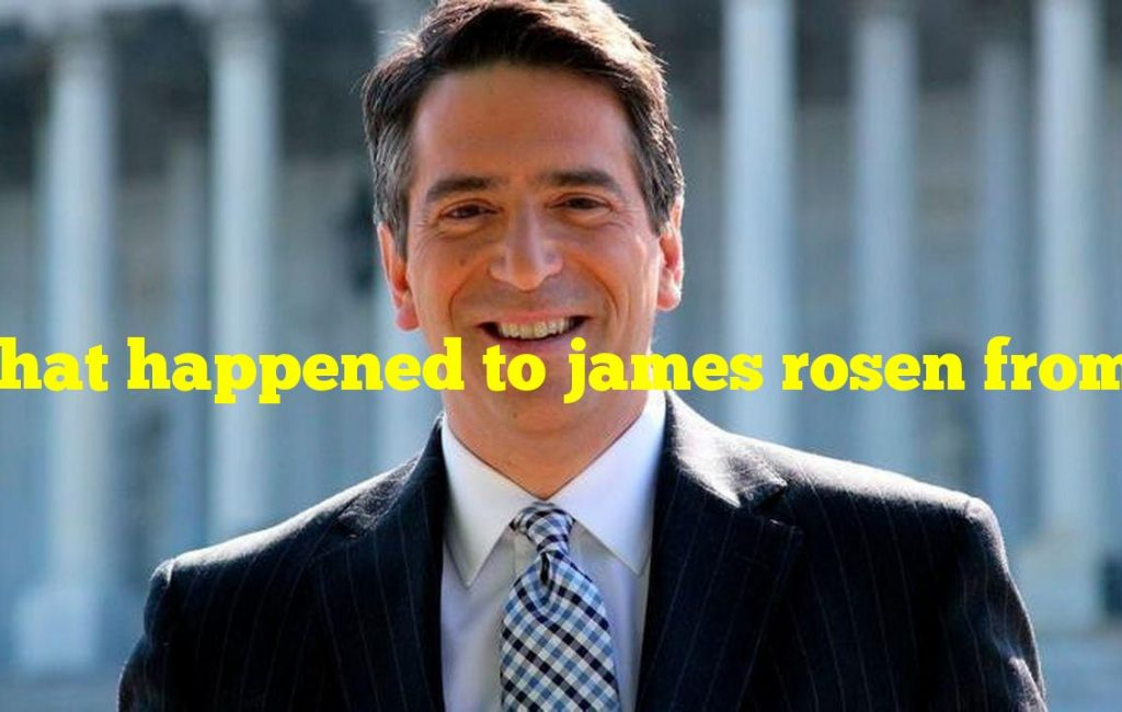 What happened to james rosen from fox news